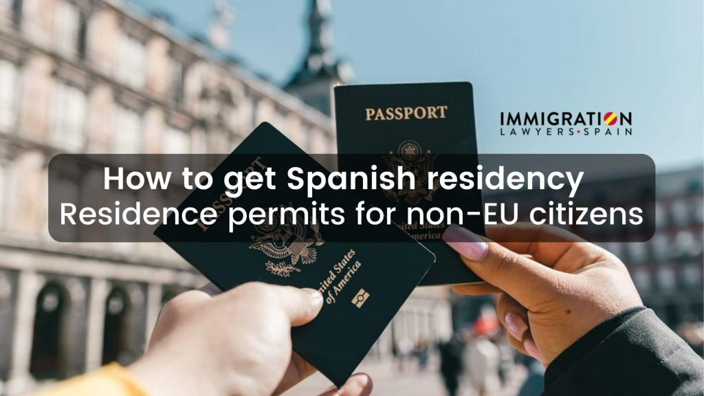 how to get Spanish residency
