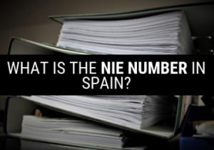 what is the nie number in Spain?
