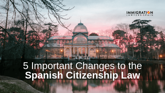 changes in the Spanish citizenship law