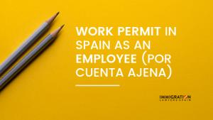 work permit as an employee