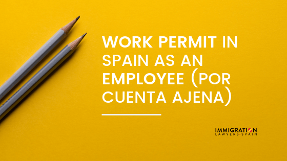 work permit as an employee