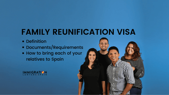 family reunification visa in Spain