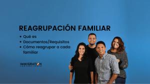 reagrupación familiar en España