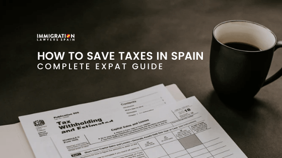 how to save taxes in Spain