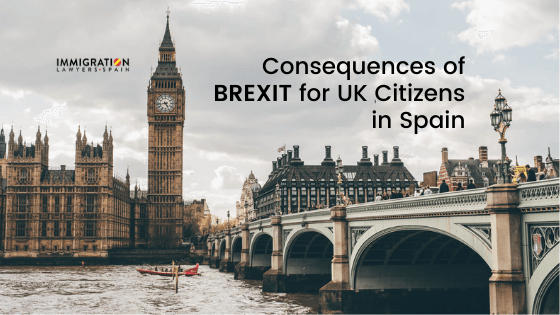 Consequences Brexit for UK Citizens in Spain (1)
