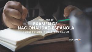 examen de nacionalidad española