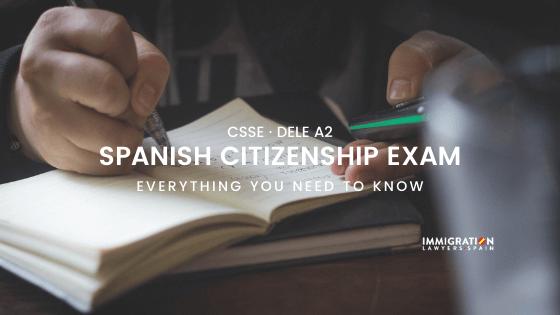 Spanish nationality test
