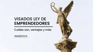 visados ley de emprendedores