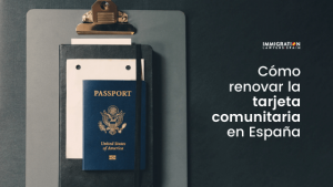cómo renovar tarjeta comunitaria en España