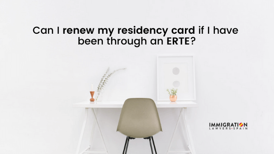 renew residency card after erte