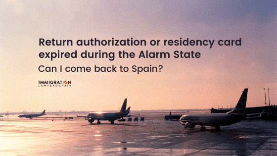 authorization to come back expired alarm state