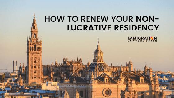 renew non lucrative visa
