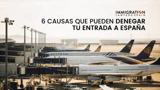 causas denegación entrada España