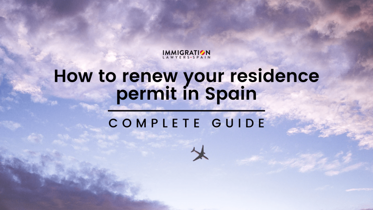 renew your residence permit in Spain