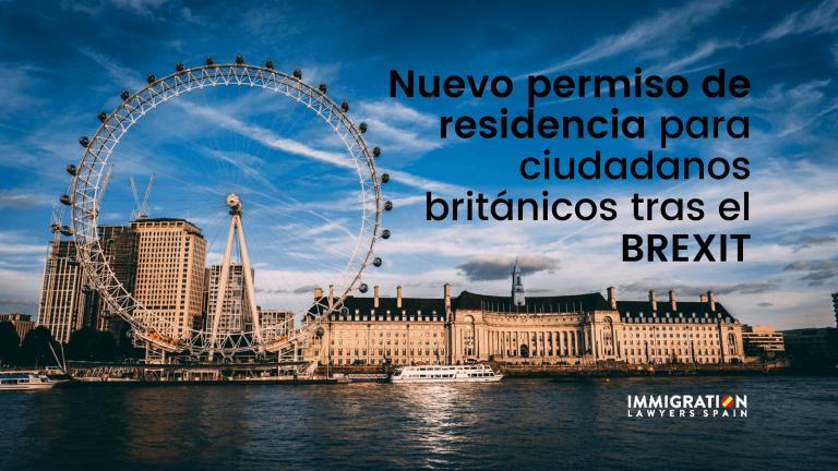permiso residencia ciudadanos británicos