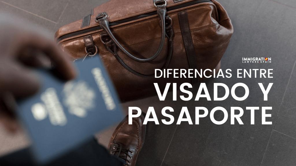 diferencias entre visado y pasaporte