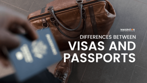 difference between passport and visa