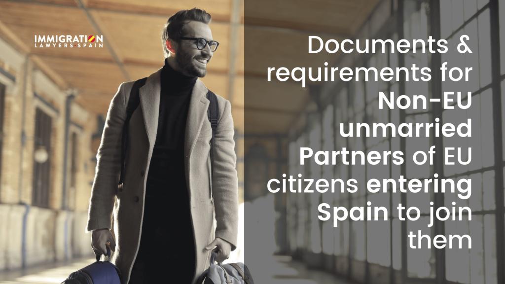non-EU partners of EU citizens entering Spain