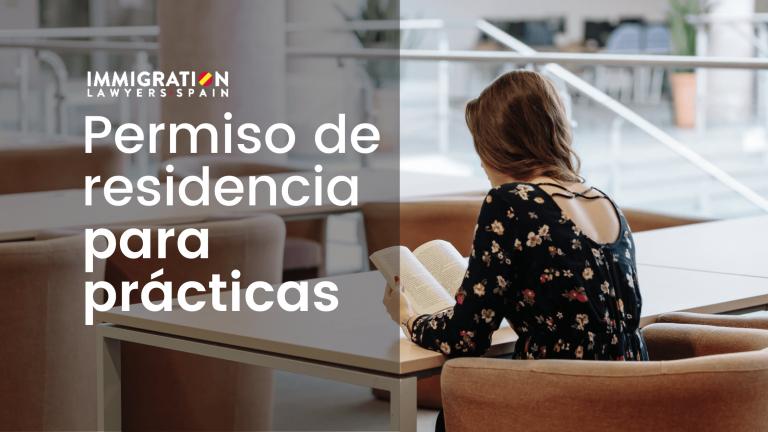 permiso de residencia prácticas España
