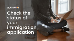 check the status of your residence permit application
