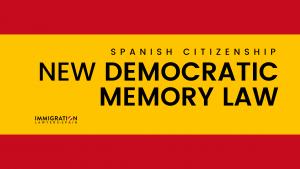 democratic memory law in Spain