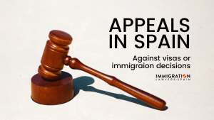 immigration appeal in Spain