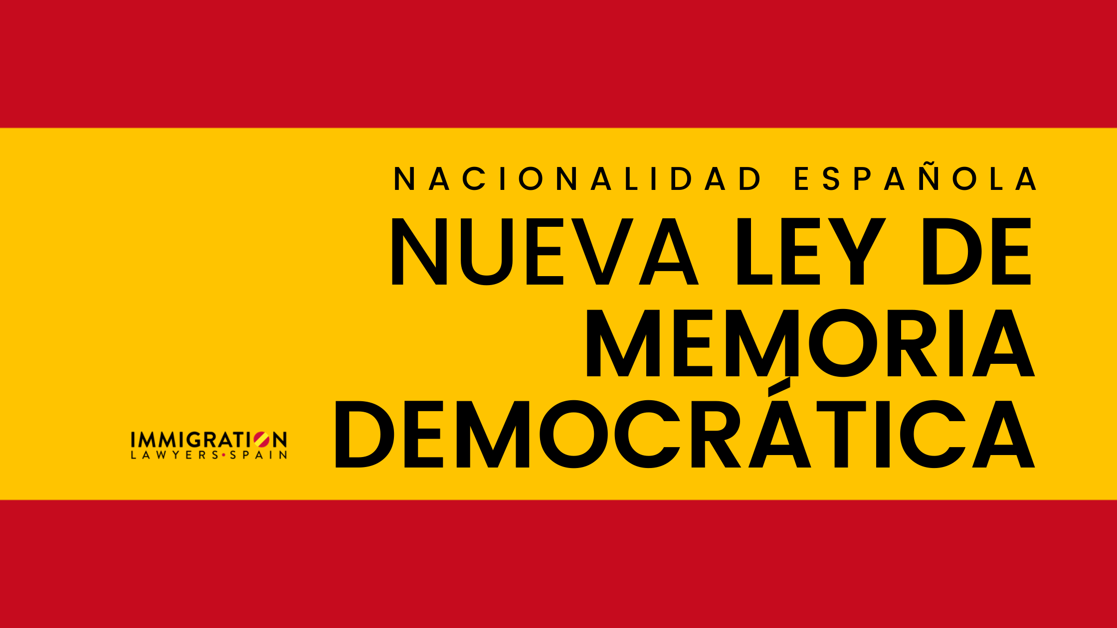 Ley de memoria democrática en España