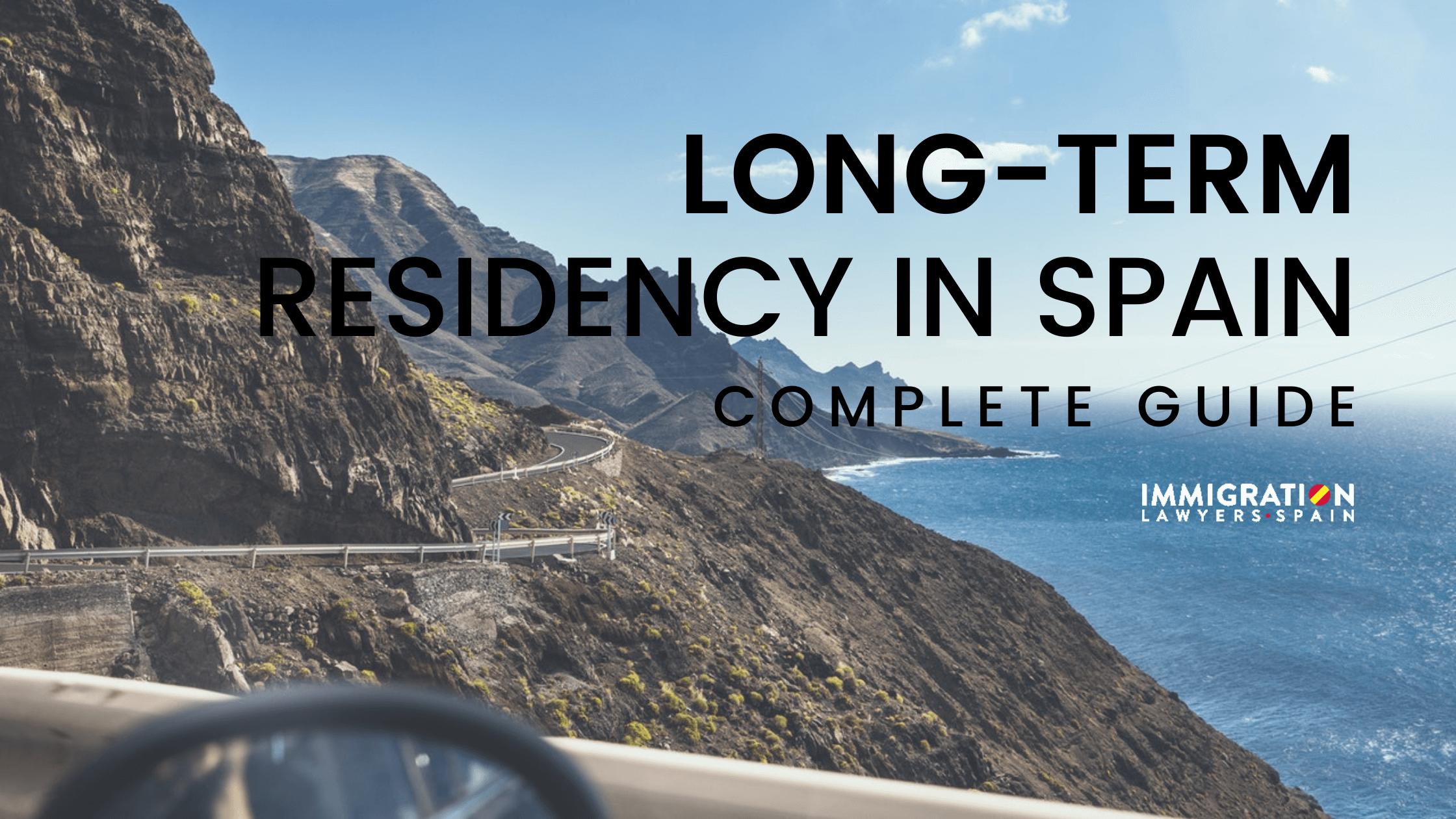 long-term residency in Spain