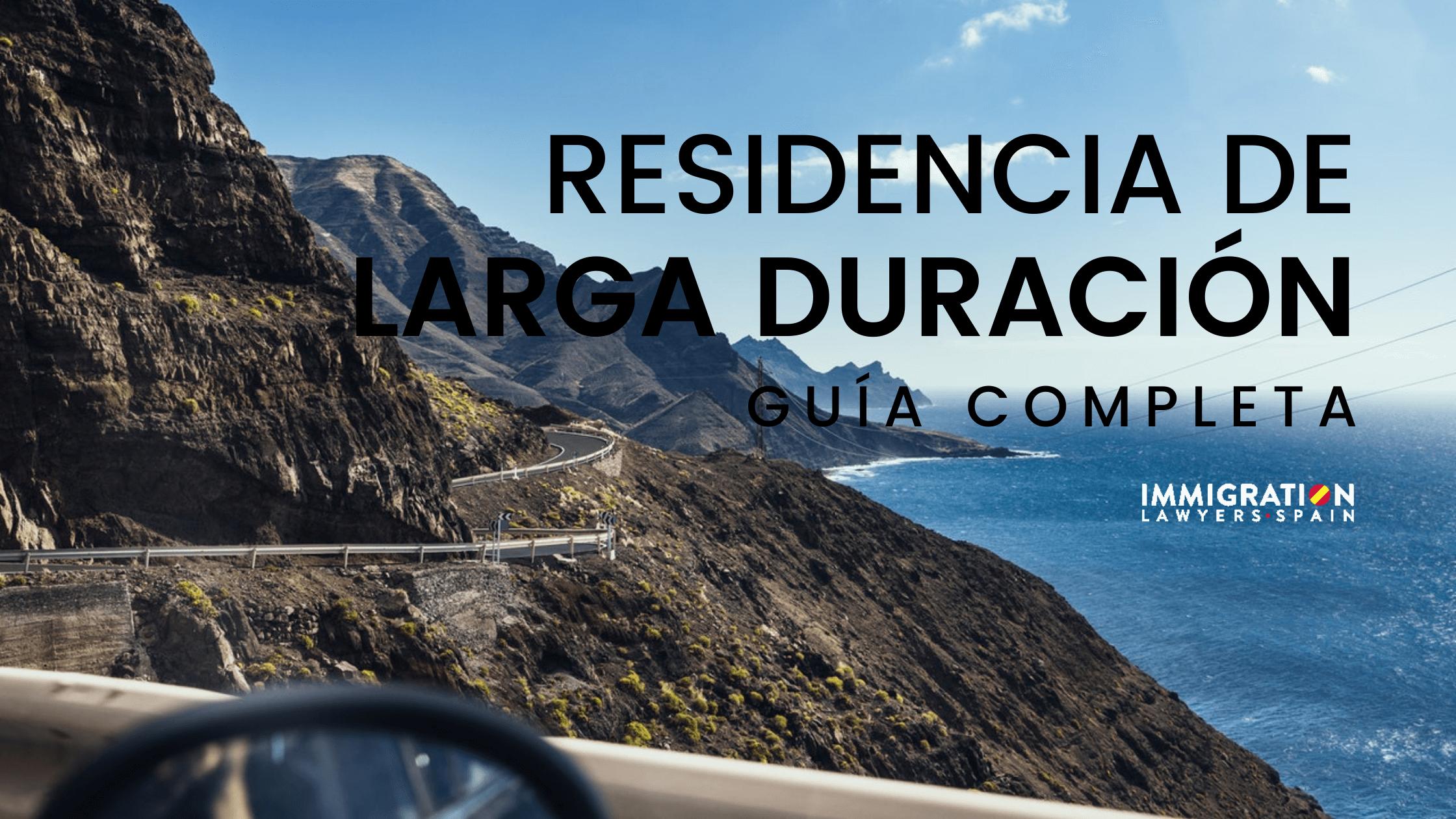 tarjeta de residencia de larga duración en España