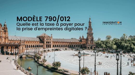 Taxe sur les empreintes digitales