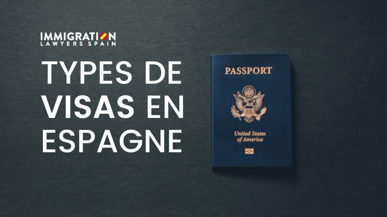 Types de visa en Espagne
