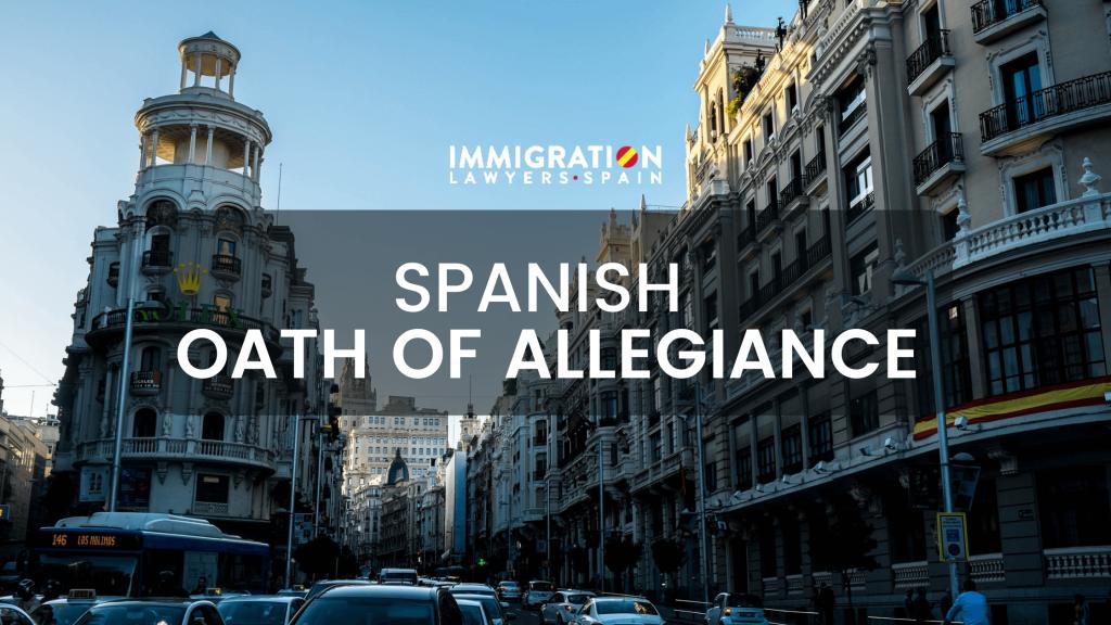 oath of allegiance Spain