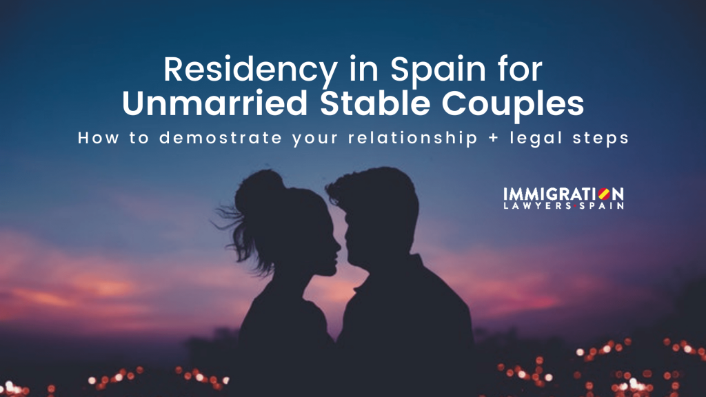 residency for unmarried stable couples