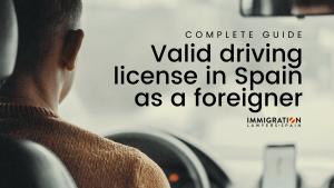 driving license in Spain