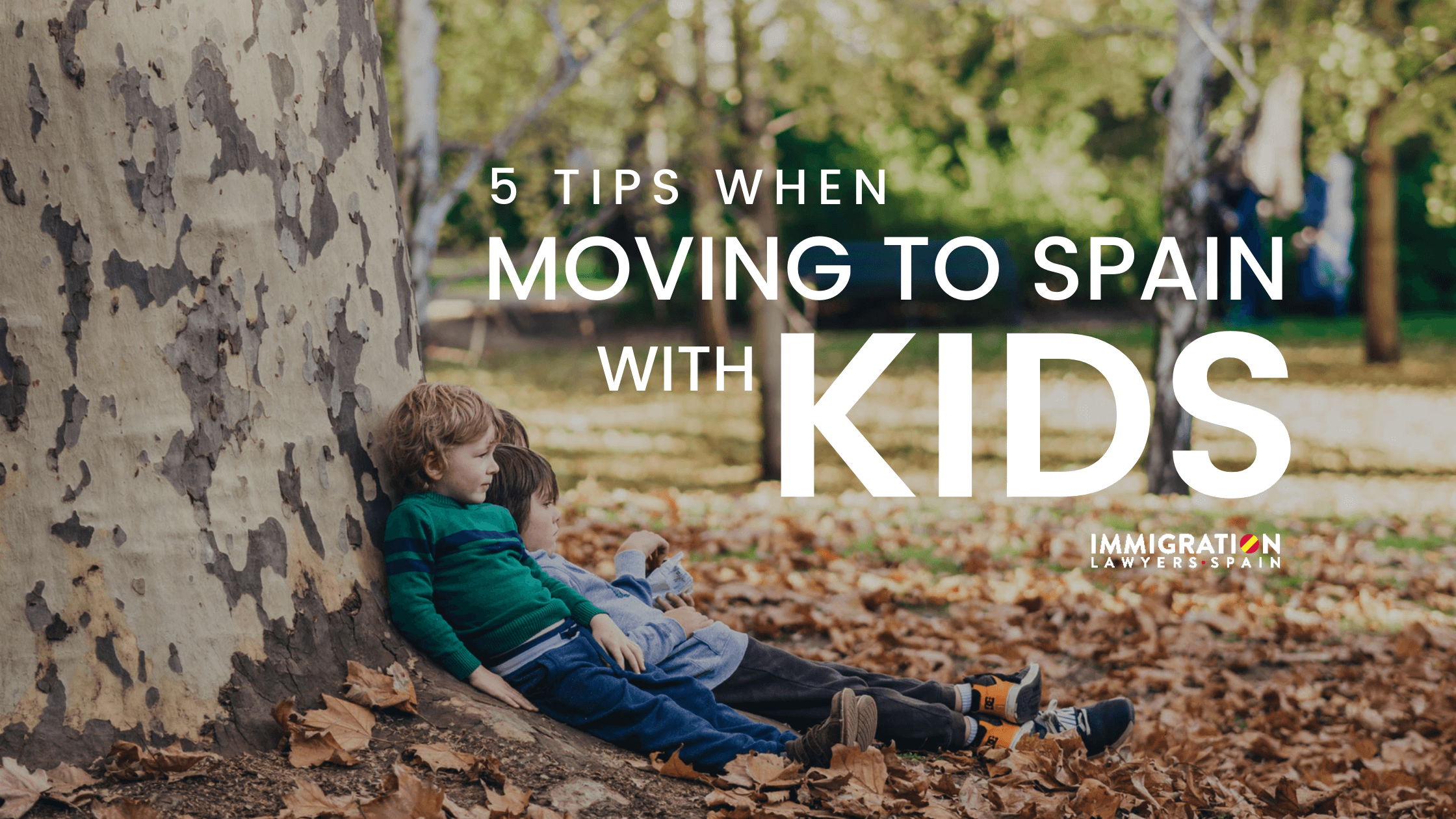 moving to Spain with kids