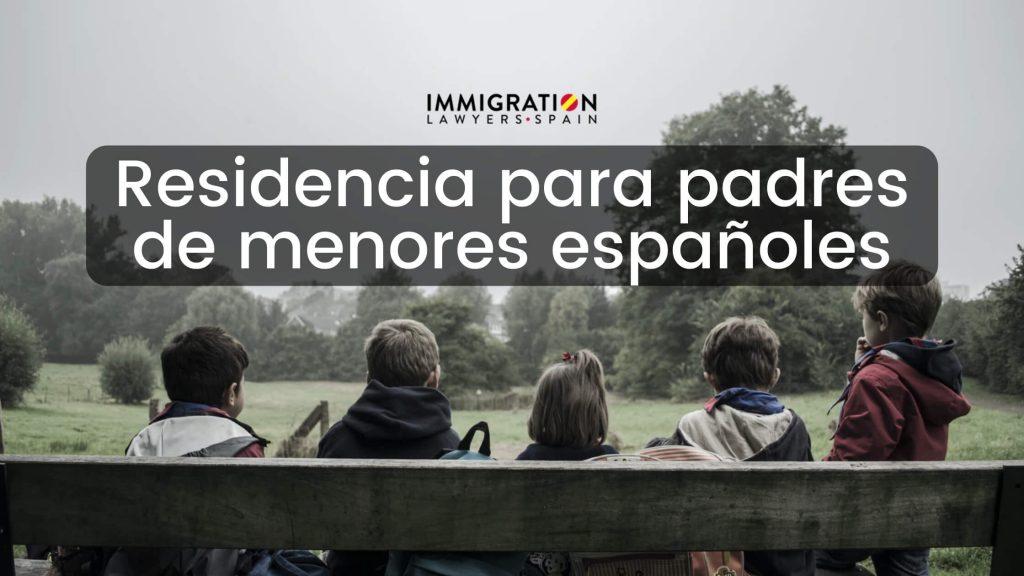 residencia para padre menor español