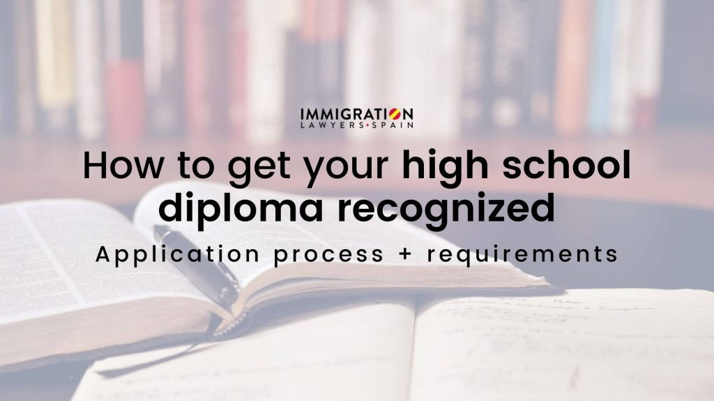 get your high school diploma recognized