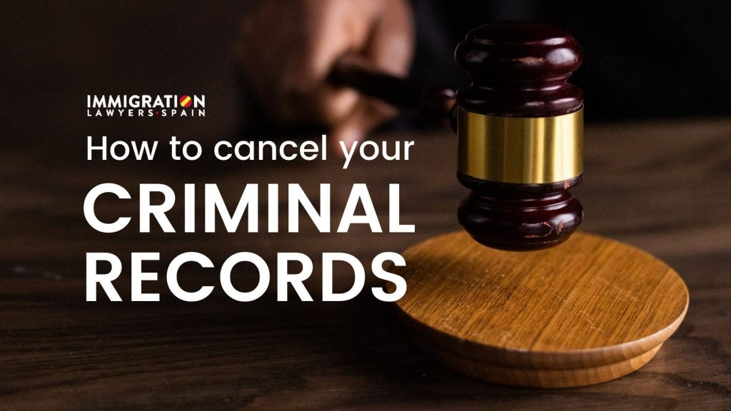 how to cancel criminal records