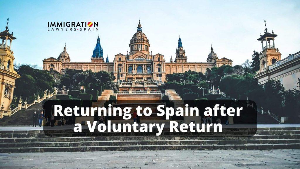 voluntary return to Spain