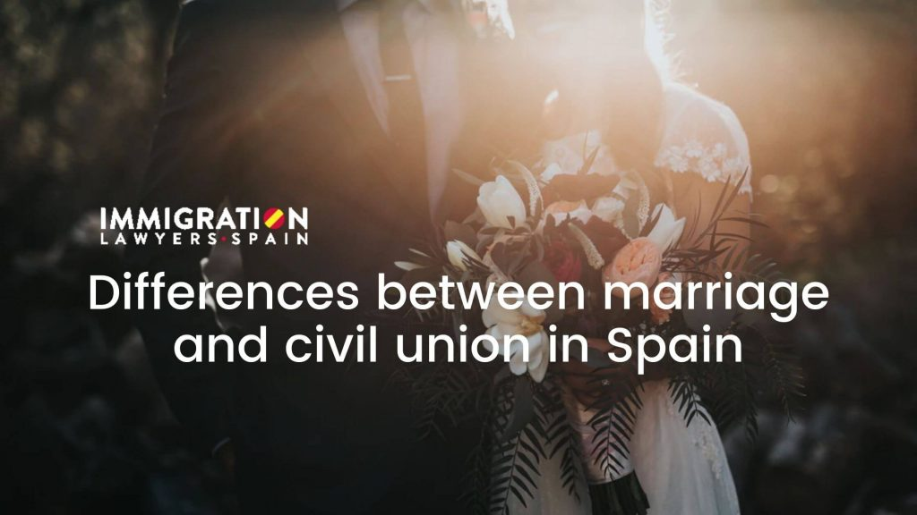 differences between marriage and civil union