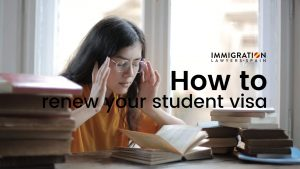 how to renew student visa in Spain