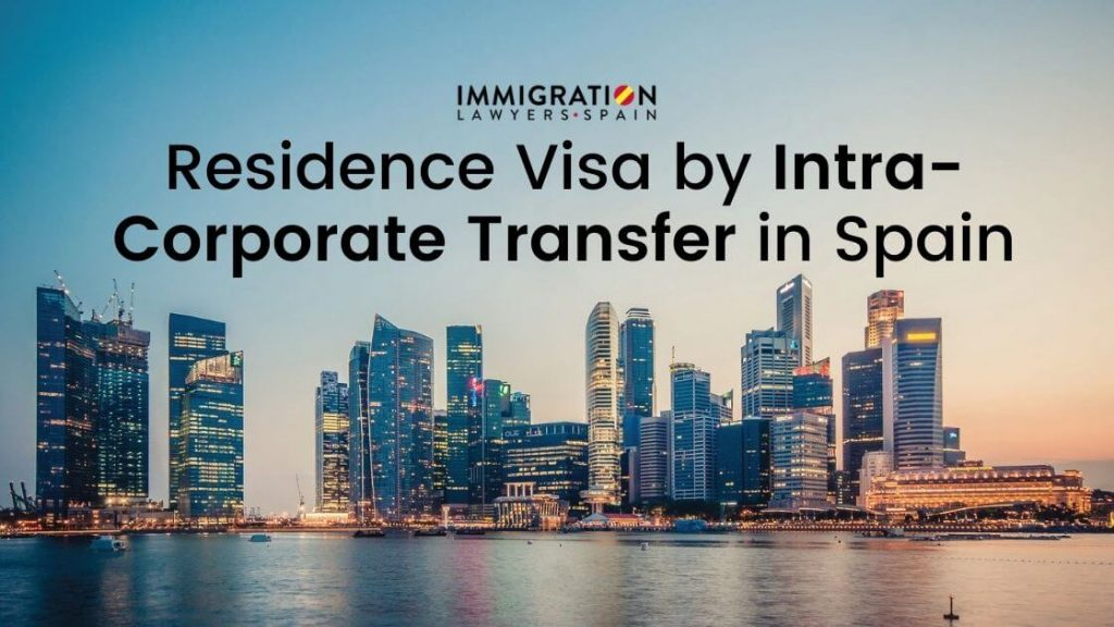 intra-corporate transfer residency