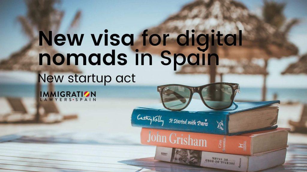 new visa for digital nomads in Spain