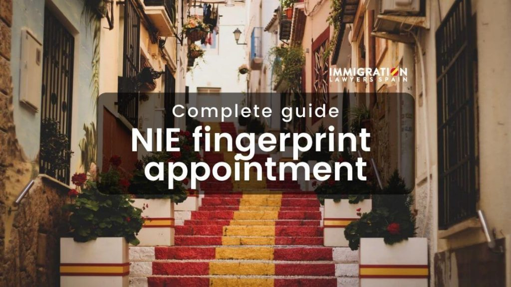 NIE fingerprint appointment