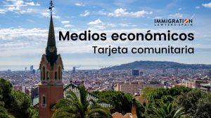 medios económicos tarjeta comunitaria