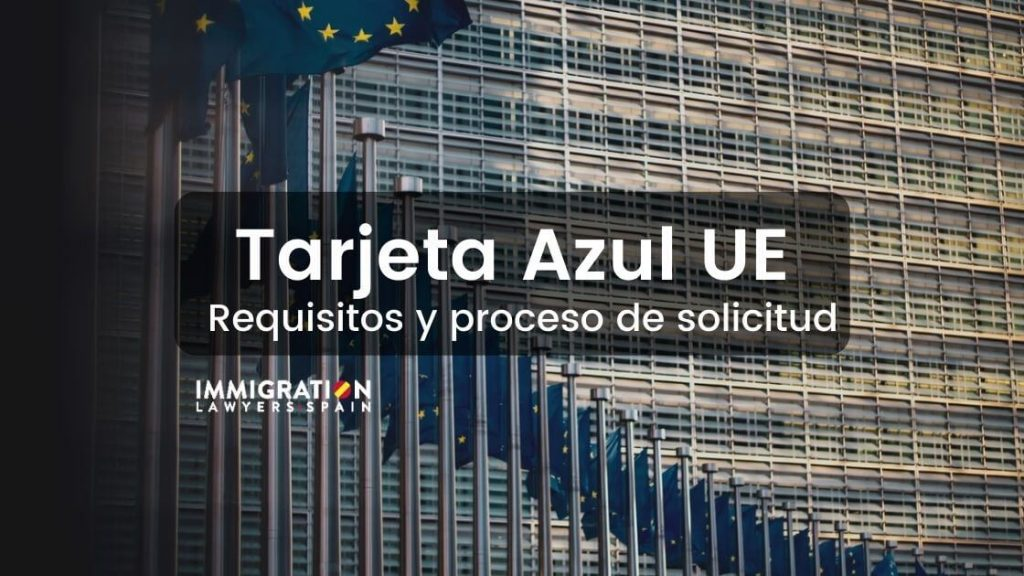 tarjeta azul UE