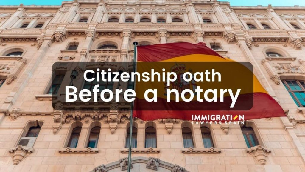 citizenship oath before notary